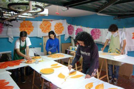 Madeira Flower Festival 2011/Dress Paintings