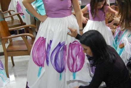 Madeira Flower Festival 2009/Dresses
