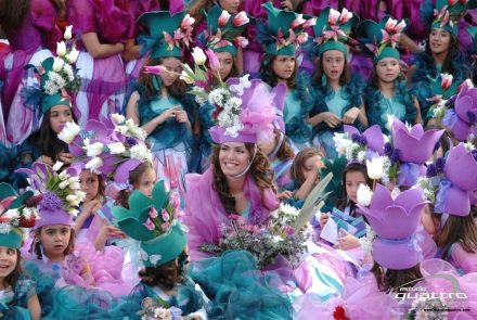Madeira Flower Festival 2009/End of the Parade