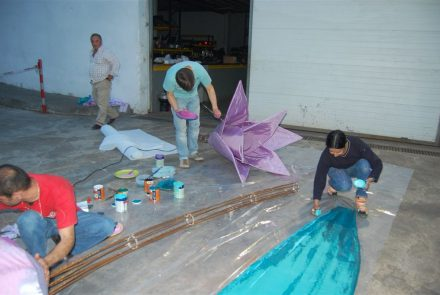 Madeira Flower Festival 2009/Float Making of