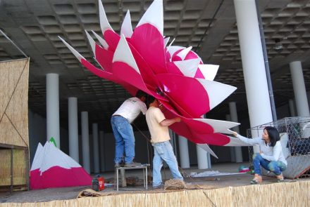 Madeira Flower Festival 2011/Float Making of