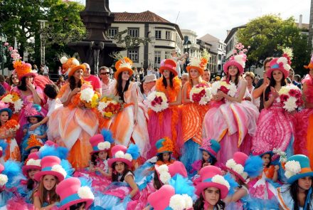 Madeira Flower Festival 2011/End of the Parade