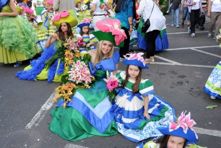Madeira Flower Festival 2012/Before the Parade