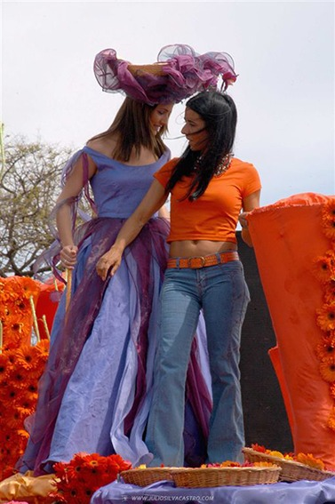 Madeira Flower Festival 2005/Before the Parade
