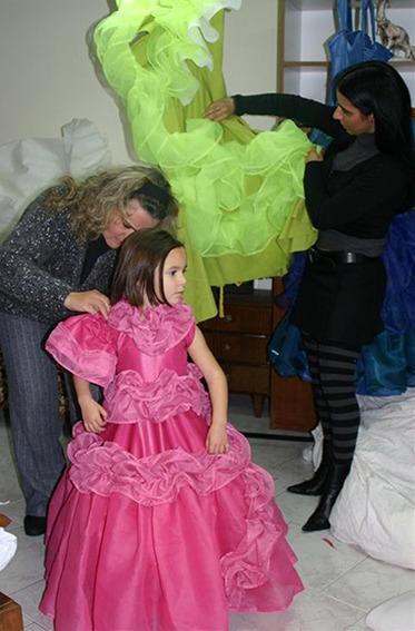 Madeira Flower Festival 2005/Dresses