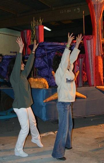 Madeira Flower Festival 2005/Rehearsal