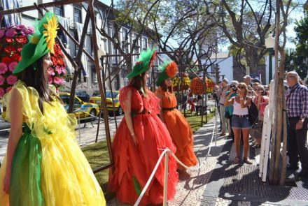 Flower Market in the city of funchal 2014
