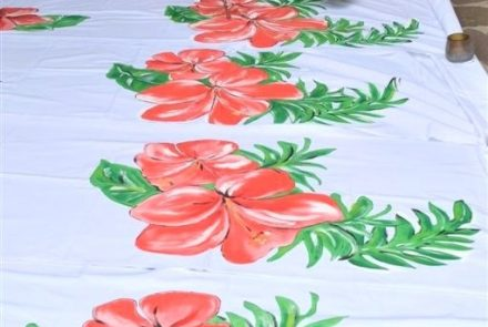 Madeira Flower Festival 2014/Dress Paintings