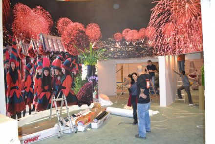 BTL/Internacional Tourism Exhibition/Making Of