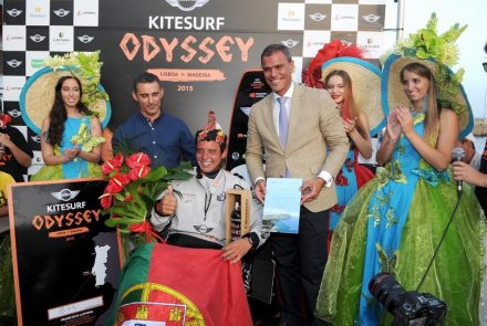 Francisco Lufinha/Kitesurf Odyssey/Lisboa-Madeira