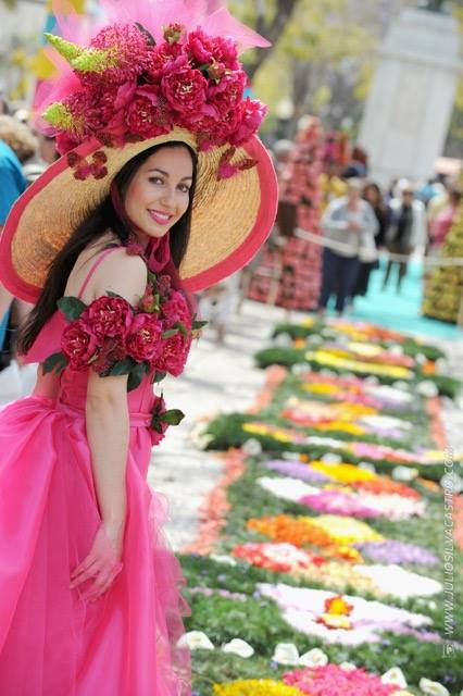 Flower Market in the city of funchal 2015