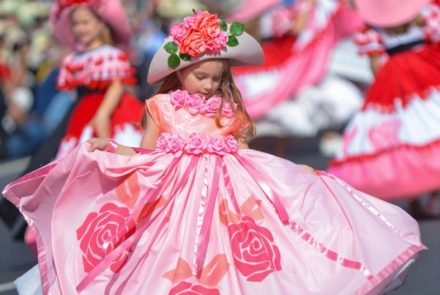Madeira Flower Festival 2016/Dress Paintings
