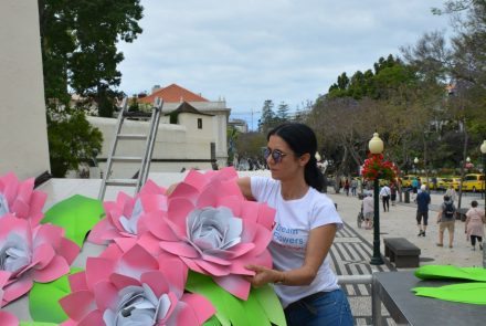 Flower Market in the city of Funchal 2018/Making of