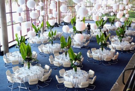 Blue & White Wedding/Cocktail and Dinner at Casino Park Hotel