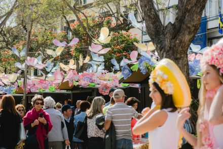 Flower Market in the city of funchal 2018