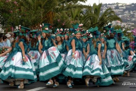 Madeira Flower Festival 2009/Dress Paintings