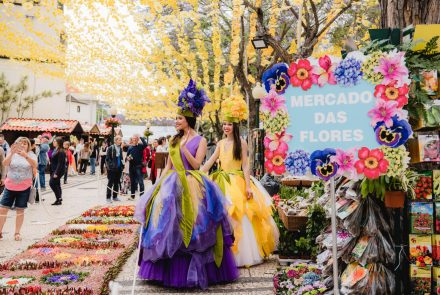 Flower Market in the city of Funcha 2019