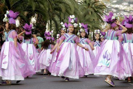 Madeira Flower Festival 2009/Dress Paintings