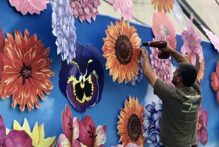Flower Market in the City of Funchal 2019/Making of