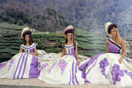 Madeira Wine Festival 2013/Dress Painting
