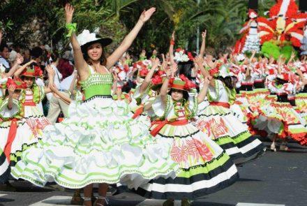 Madeira Flower Festival 2010/Dress Paintings