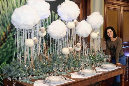 Christmas in The Clouds/Table Decoration