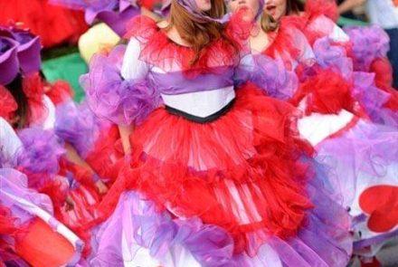 Madeira Flower Festival 2013/Dress Paintings