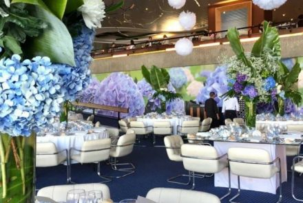 Blue & White Wedding/Floral Decoration