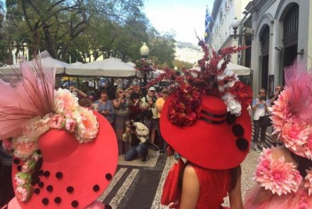 Flower Market in the city of Funchal 2016