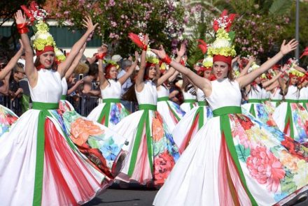 Madeira Flower Festival 2017/Dress Paintings