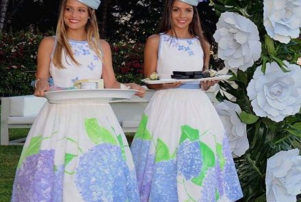 Blue & White Wedding/Dress Paintings
